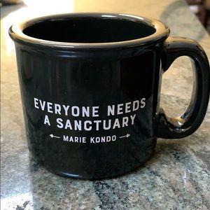 NWOT Marie Kondo Mug - Everyone Needs a Sanctuary
